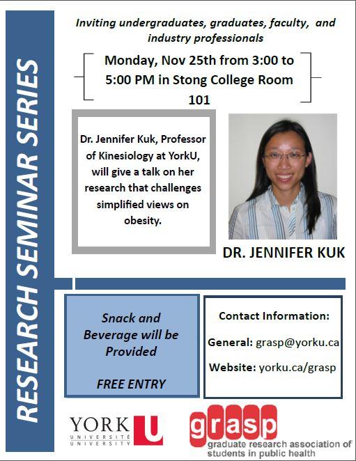 GRASP Event Jen Kuk Nov. 25th