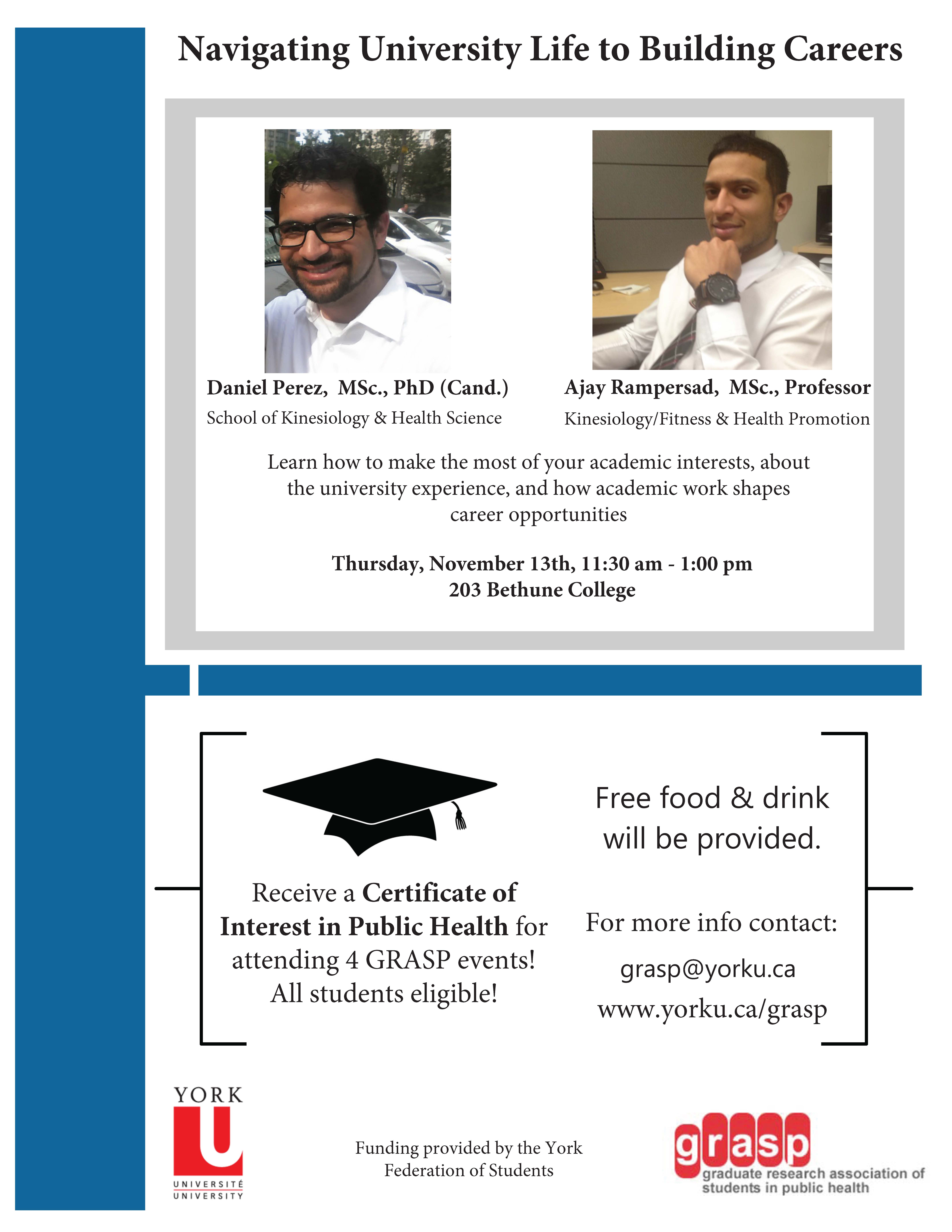 GRASP - University Life to Careers